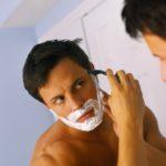 Удаление волос с лица с помощью бритья