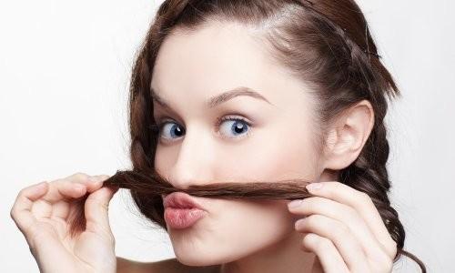Проблема волос на лице у девушек