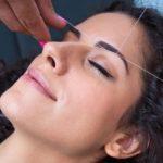 Нить для депиляции волос на лице