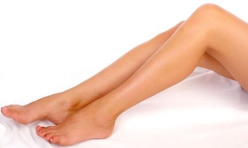 Гладкие ноги после эпиляции