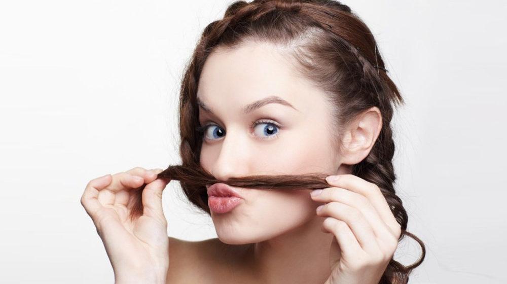 Волосы в носу у женщин
