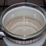 Поддержание температуры смеси при помощи водяной бани