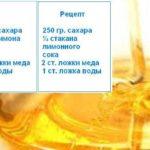 Рецепты шугаринга