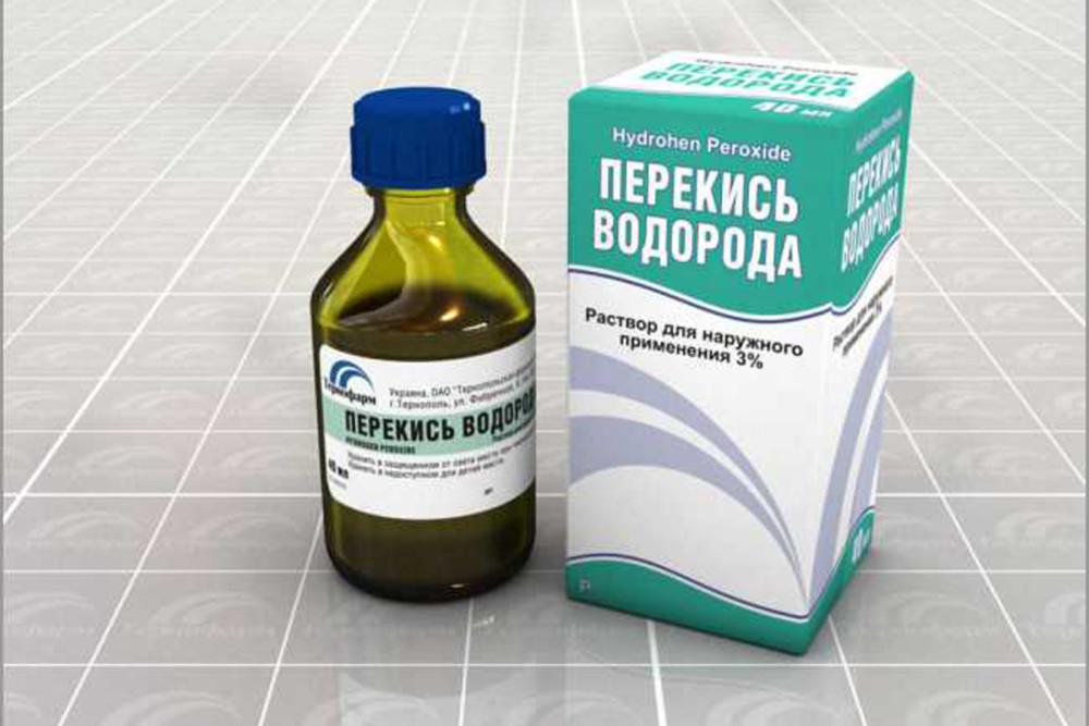 Лечение от грибка перекисью водорода