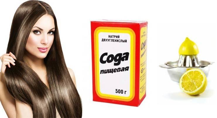 Сода для здоровья волос